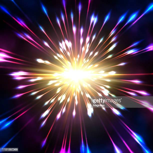 hyperspace abstract background - astronomy stock illustrations