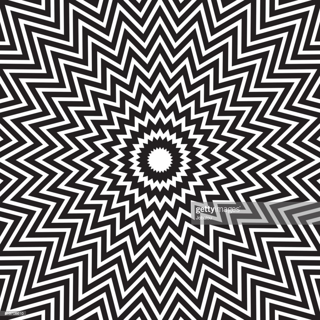 Hypnotic Concentric Abstract Lines : stock illustration
