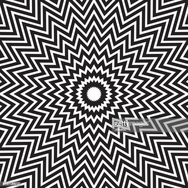 Hypnotic Concentric Abstract Lines