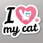 i love may cat