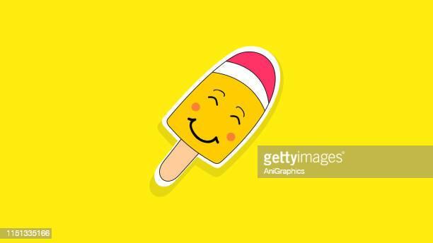 ice cream candy icon - frozen yogurt stock illustrations, clip art, cartoons, & icons