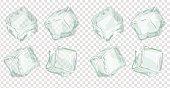 Ice cubes set