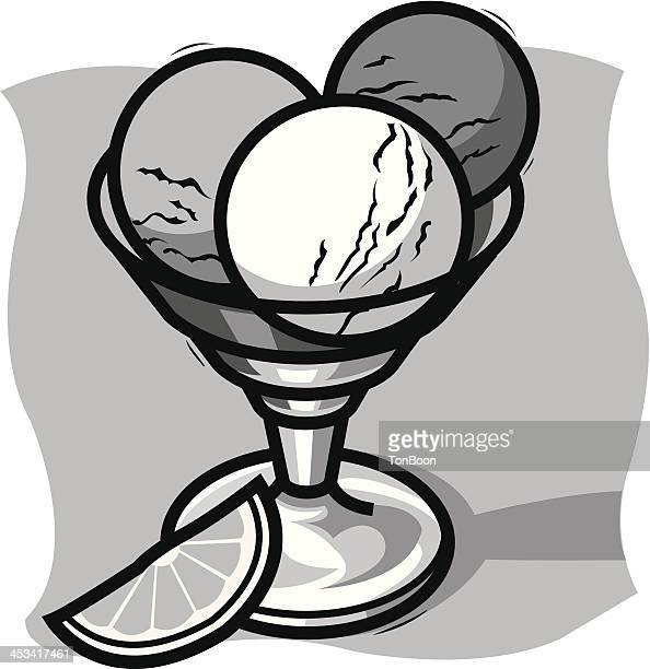 ice cup - scoop shape stock illustrations, clip art, cartoons, & icons