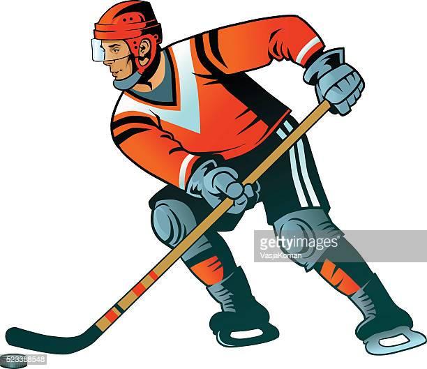 Ice Hockey Player - Isolated