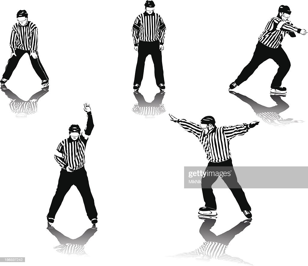 Ice hockey referees