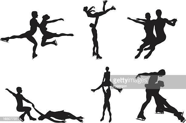 アイススケートシルエットコレクション
