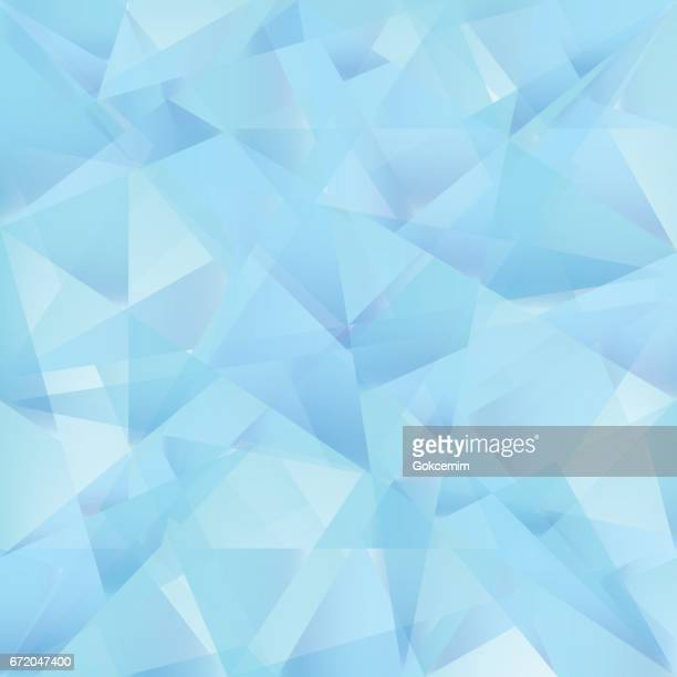 iceberg blue abstract triangle vector background. - light blue stock illustrations