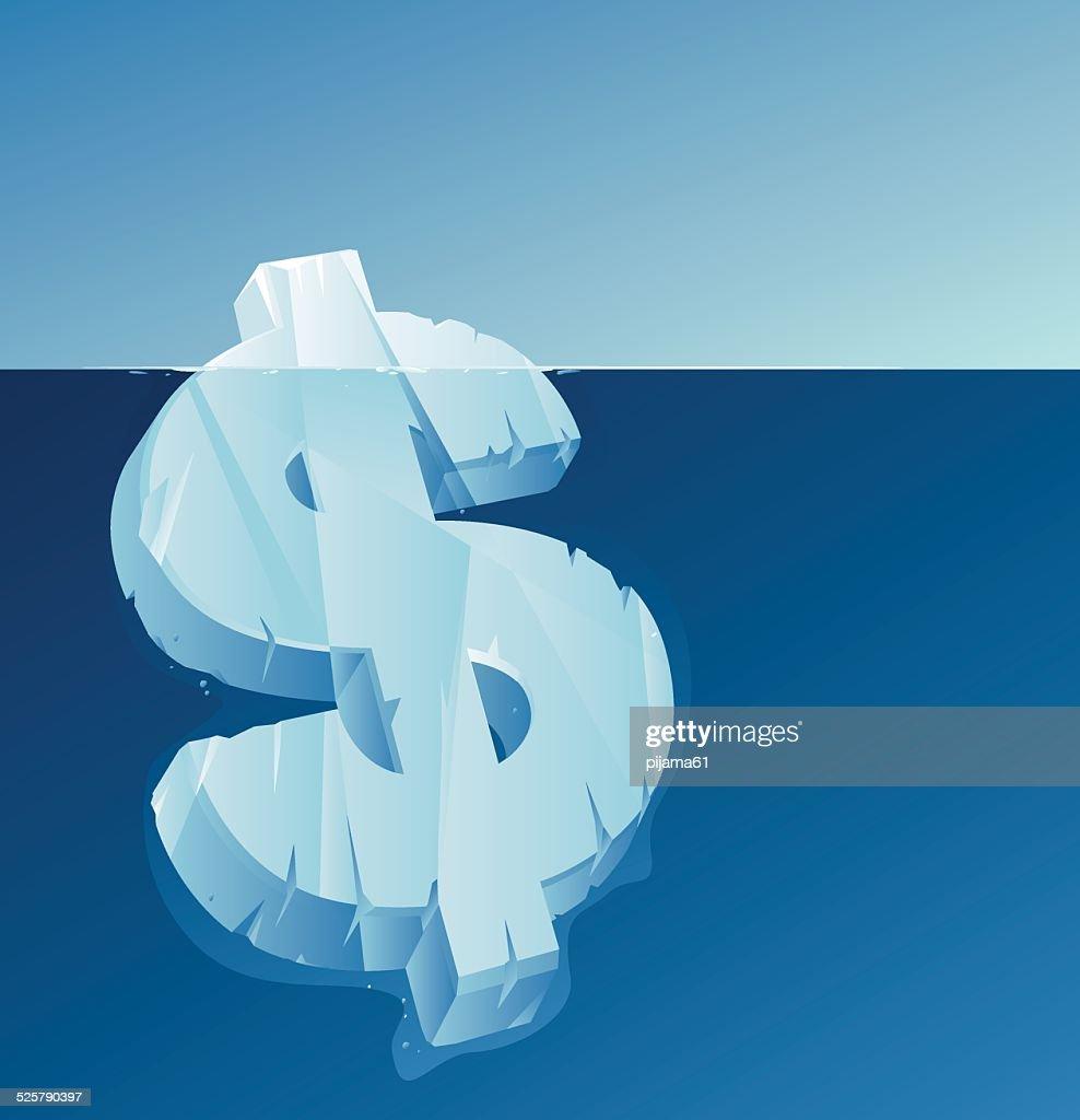 Iceberg : Vector Art