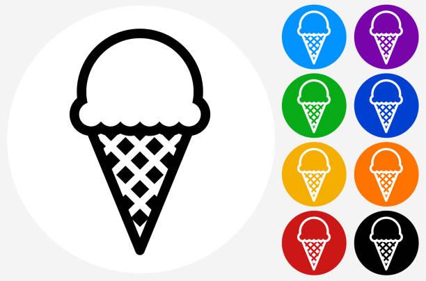 ice-cream cone. - ice cream stock illustrations