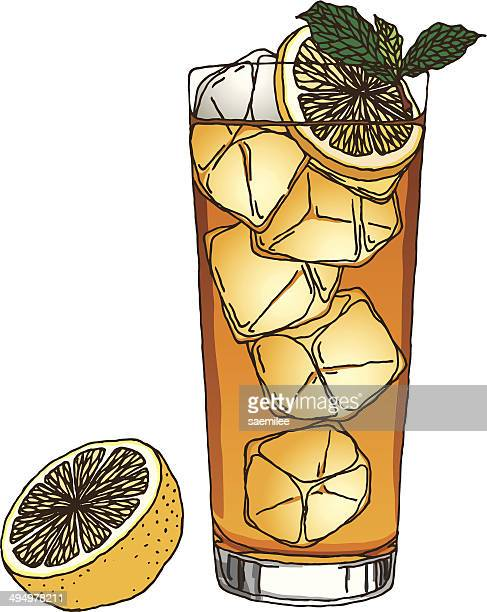 Iced Tea And Lemon