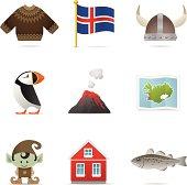 Iceland Icons