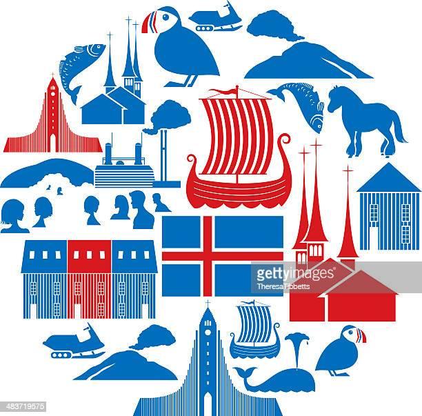 Icelandic Icon Set