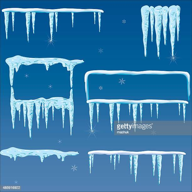 icicle - icicle stock illustrations