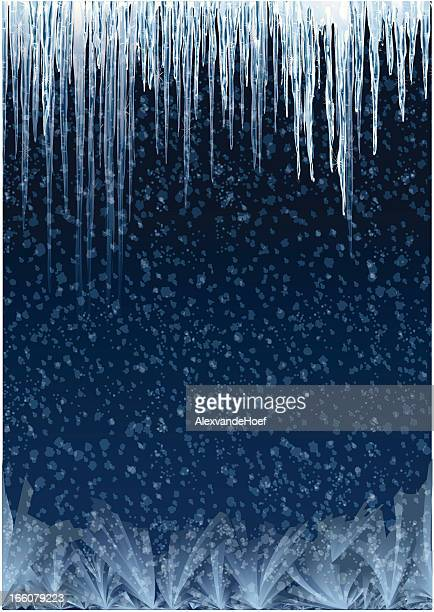 icicles background - icicle stock illustrations