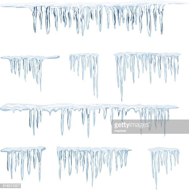 icicles - icicle stock illustrations