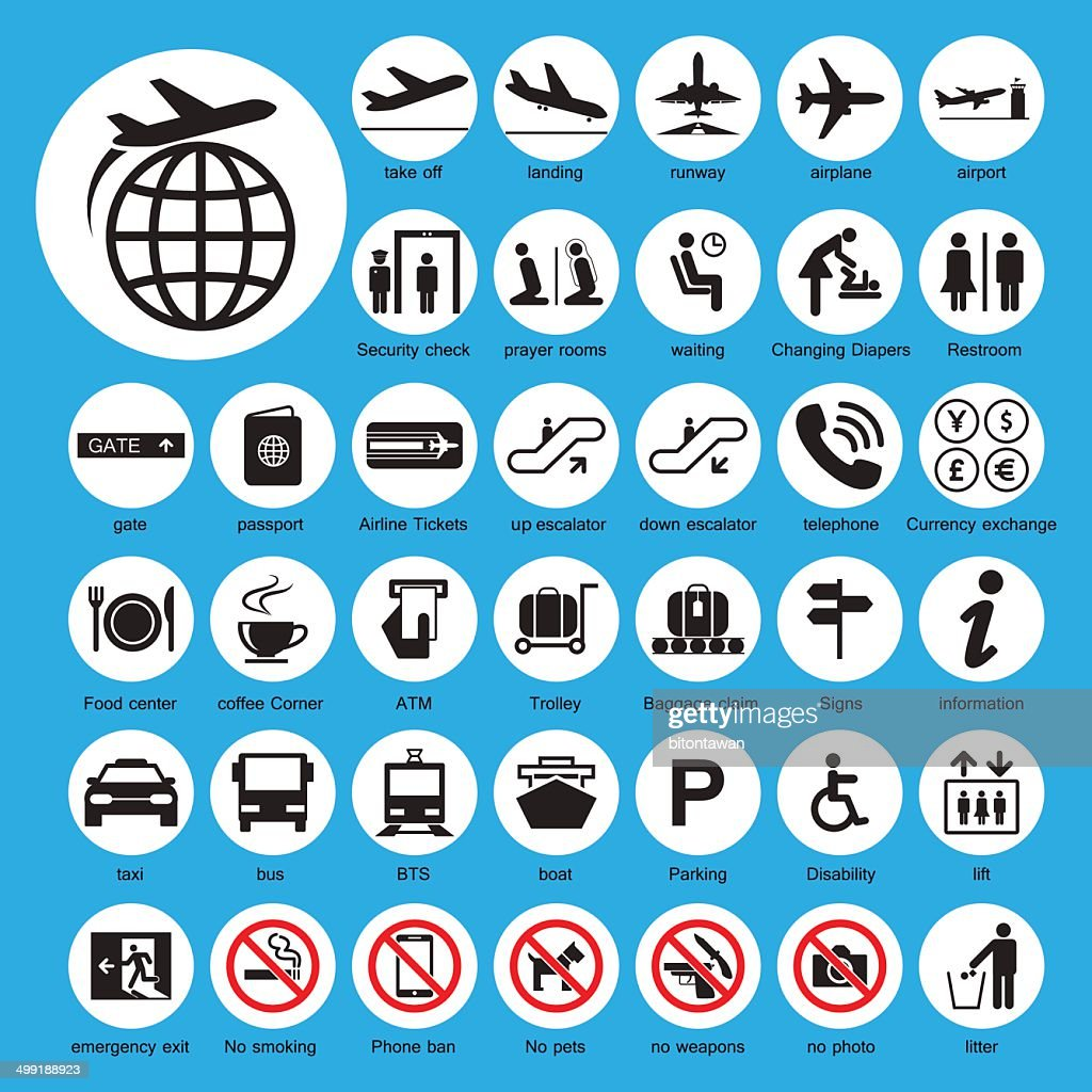 Icon Airport set