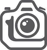 BW icon - Camera