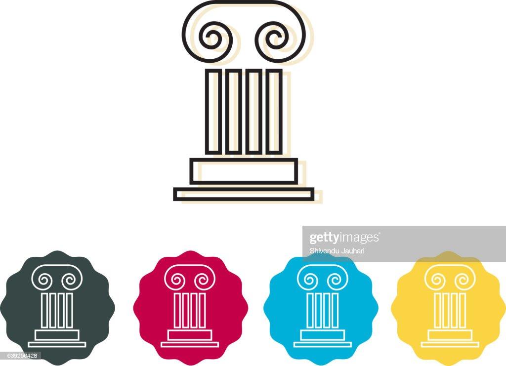 Icon - Corinthian Column
