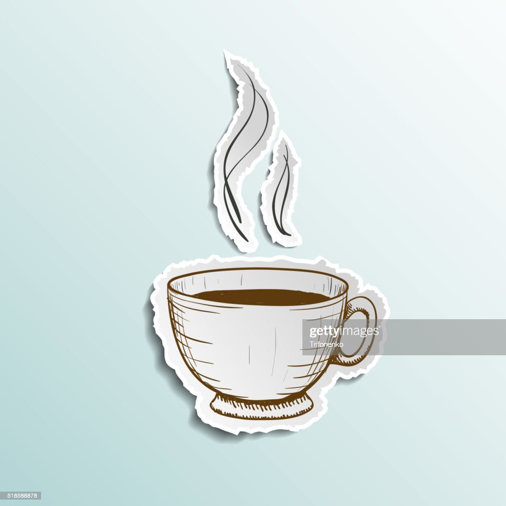 Icon cup of coffee
