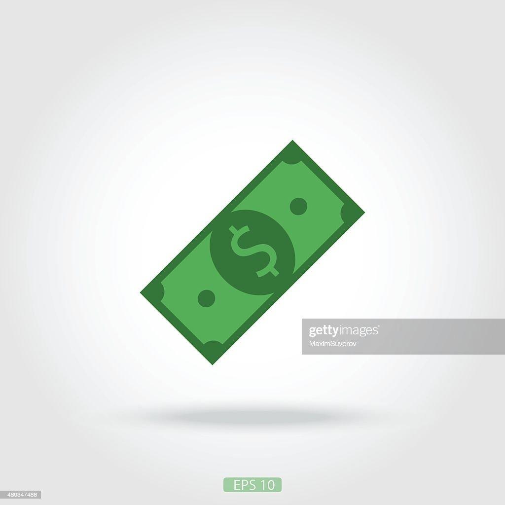 Icon dollar bill