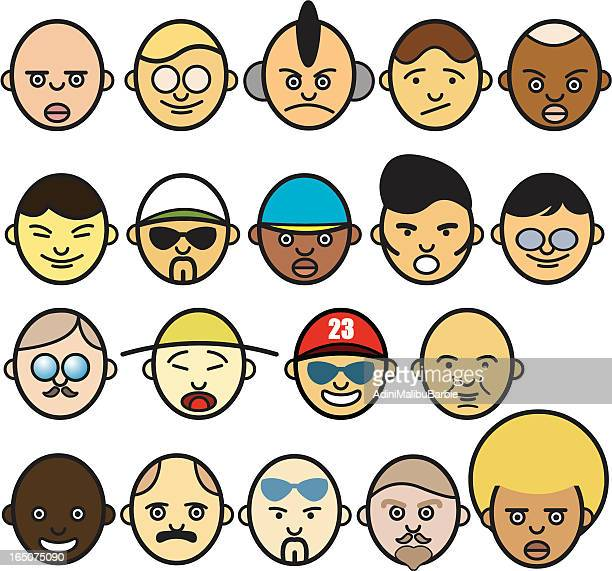 Icon Faces I