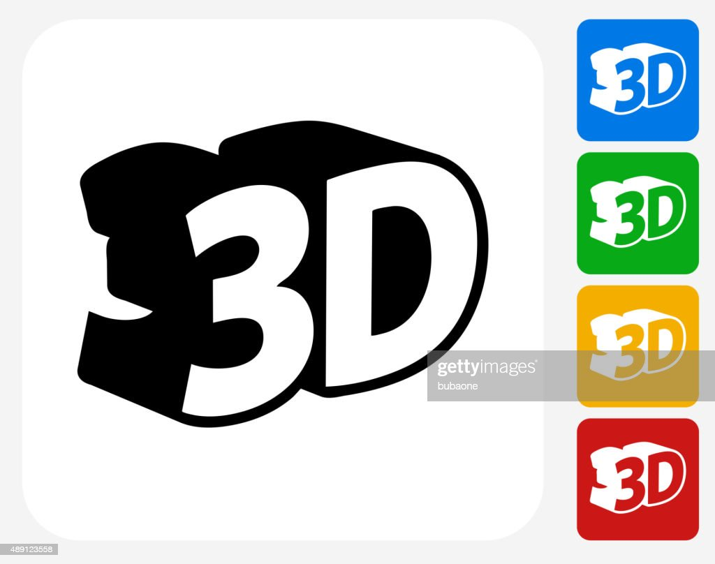 3d Icon Flat Graphic Design Vector Art Getty Images