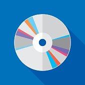 CD Icon Flat