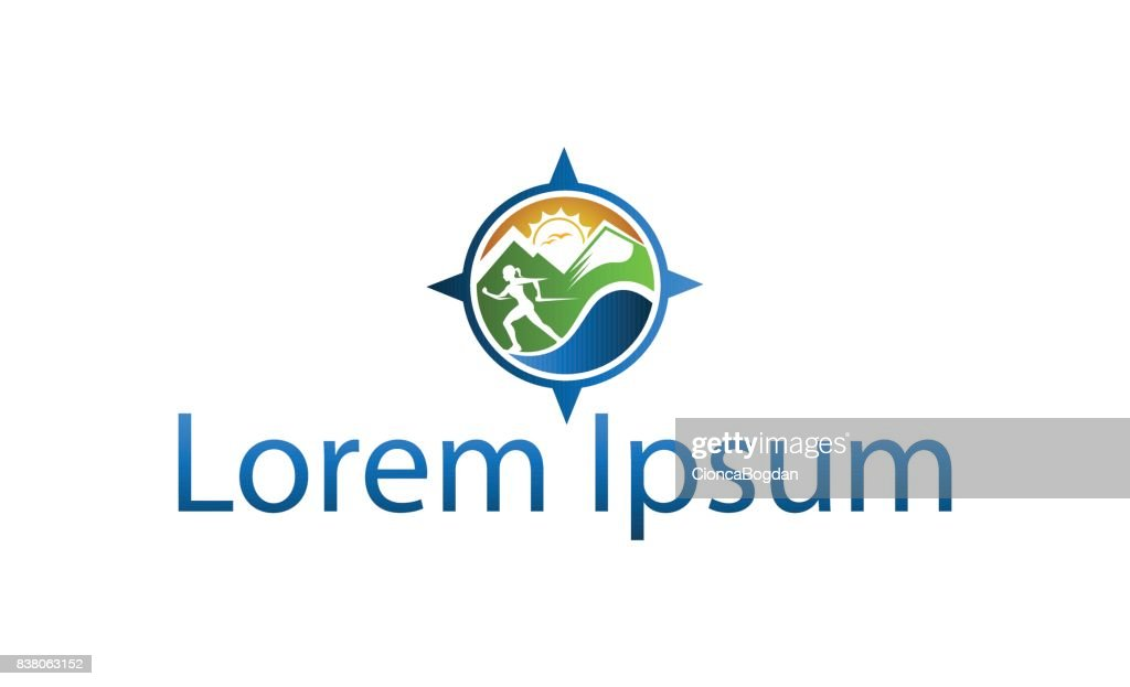 Icon for mountain excursions and outdoor activities