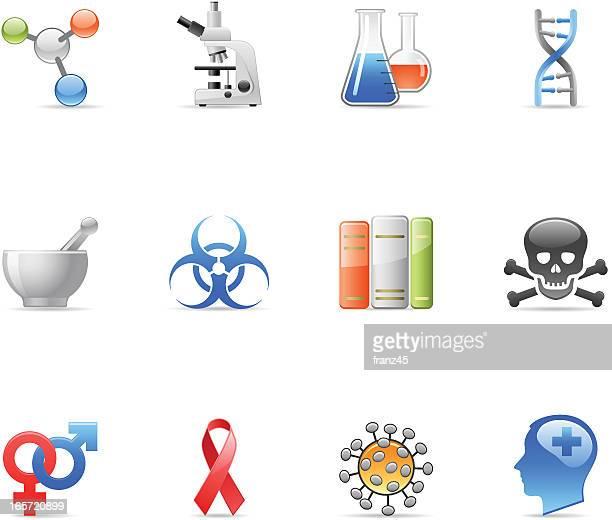 Ícone médico-de investigação