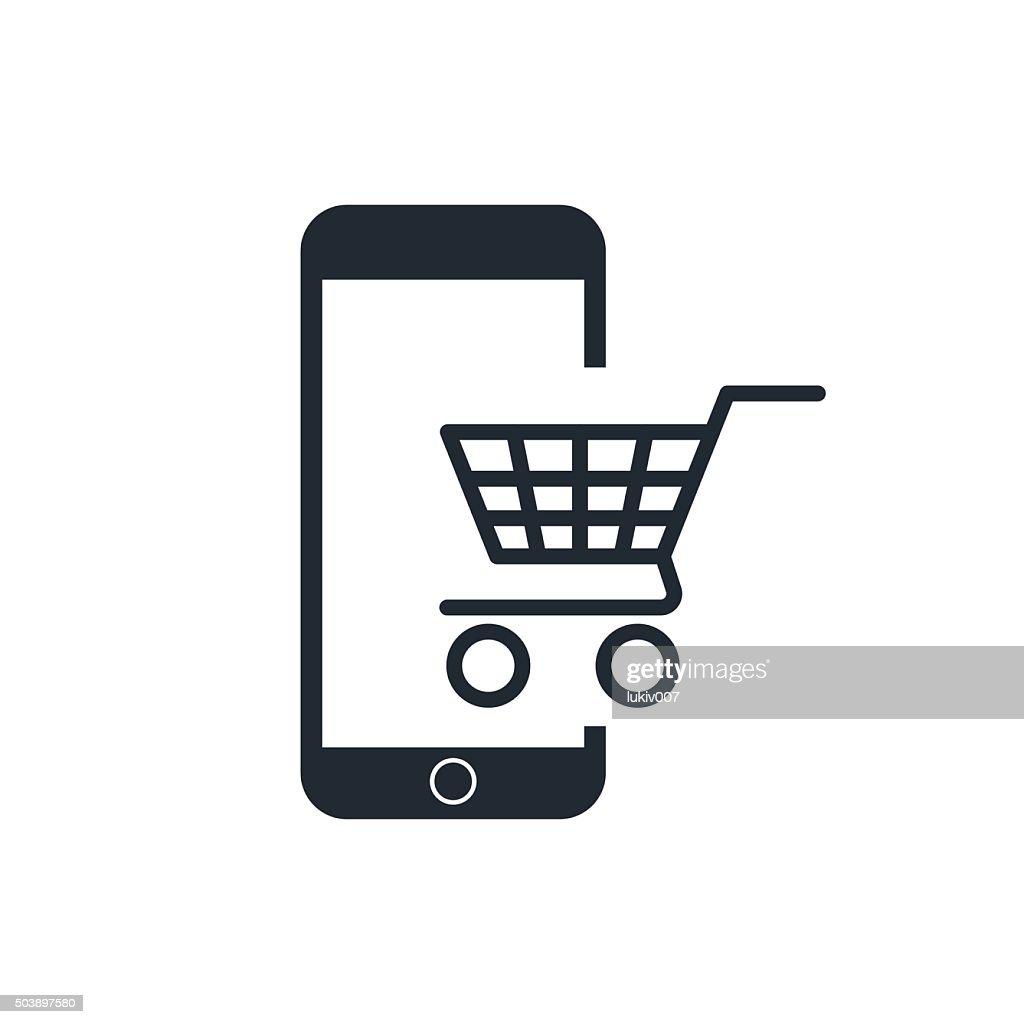 icon mobile shopping