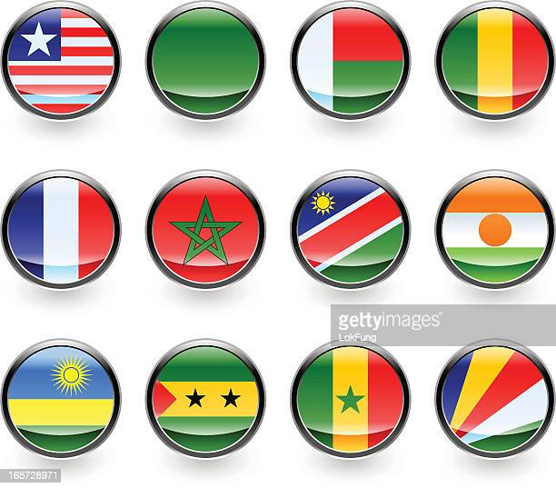 Icon of Africa countries