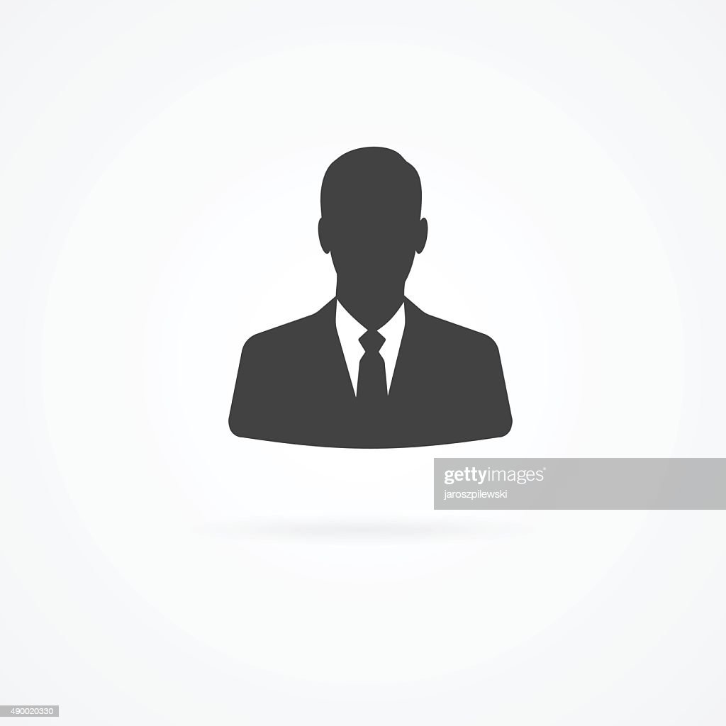 Icon of businessman