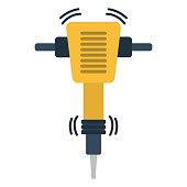 Icon of Construction jackhammer
