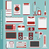 Icon of electric appliances.