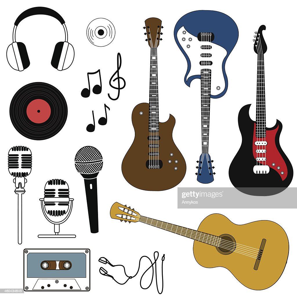 Icon of musical equipment