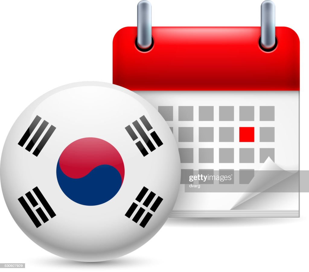 Icon of National Day in South Korea