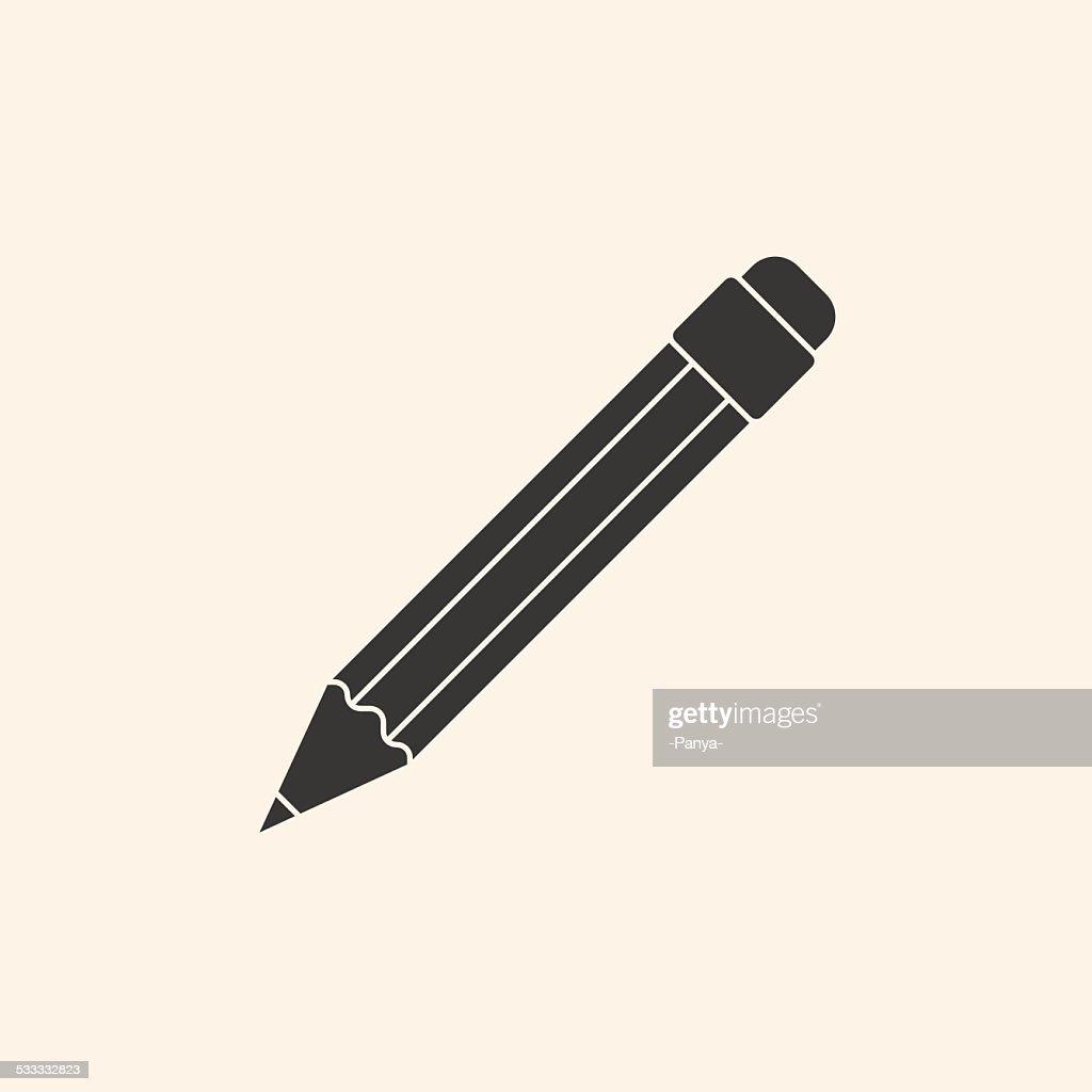 Icon of pencil