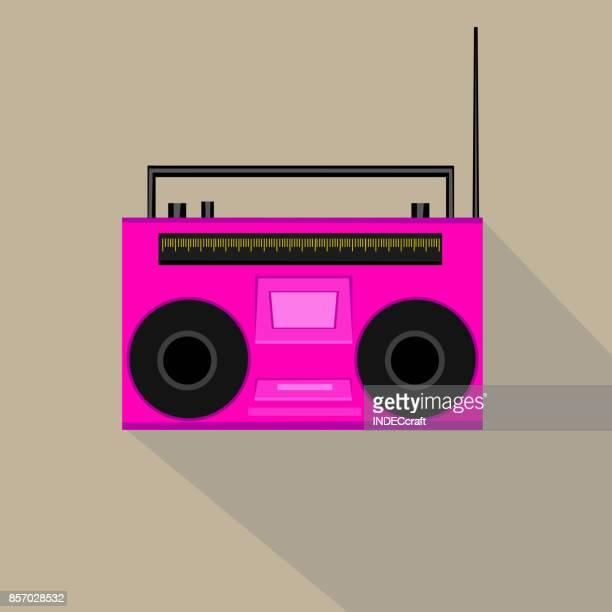 Icon Of Retro Radio