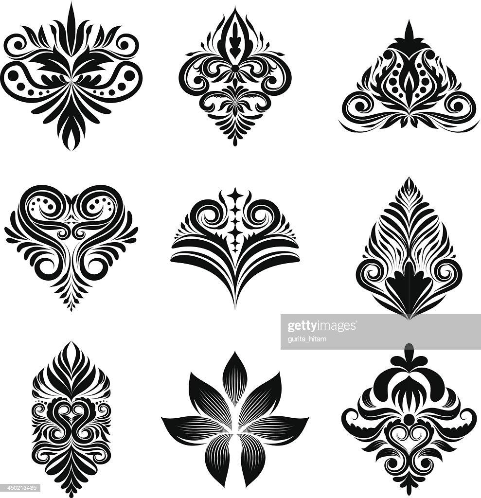 Icon Ornamental Set