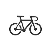 BW icon - Road bicycle
