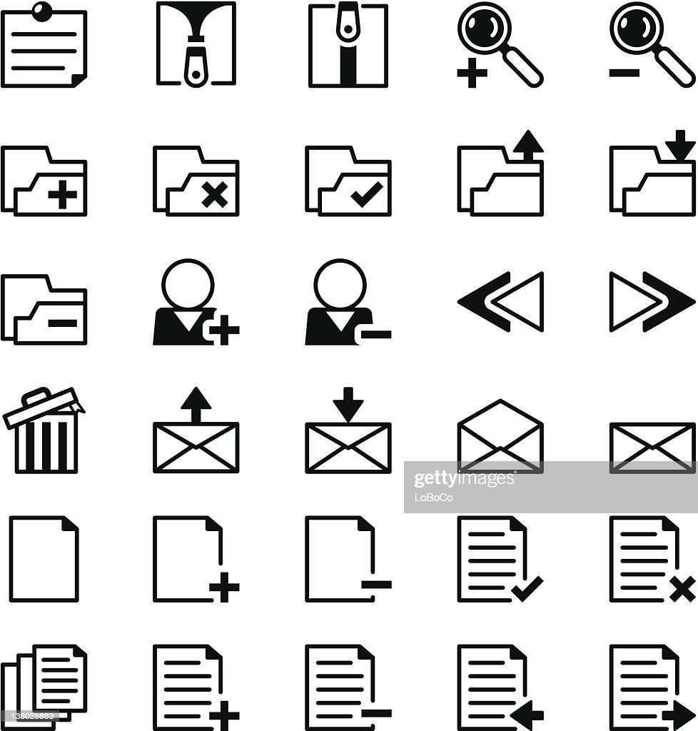 Icon series - Office/Internet Add On