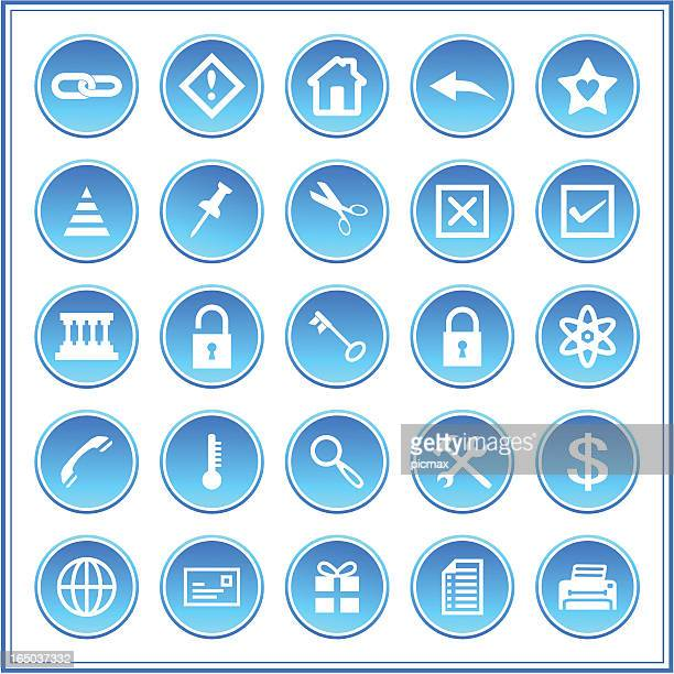 icon set 008, vector - animal heart stock illustrations, clip art, cartoons, & icons
