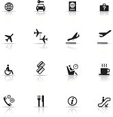 Icon Set, Airport items