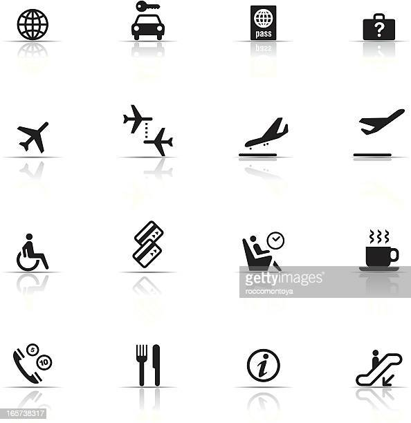 Icon Set, Airport items