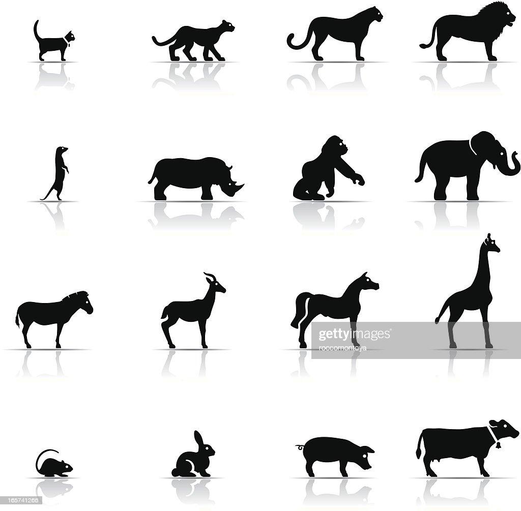 Icon Set, Animals