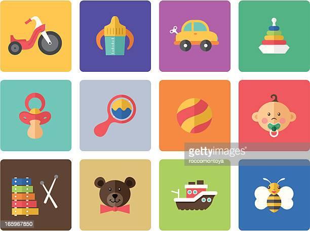 Icon Set, babies