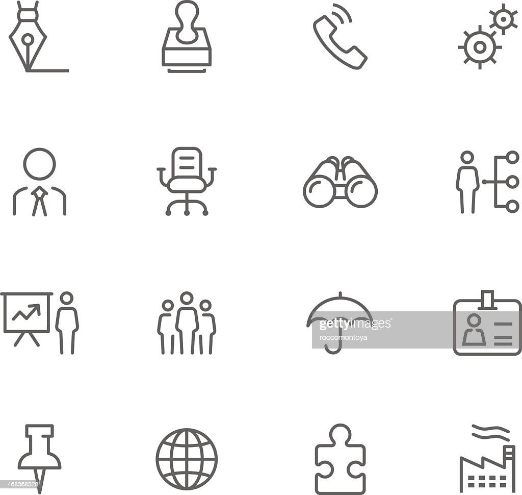 Icon Set, Business