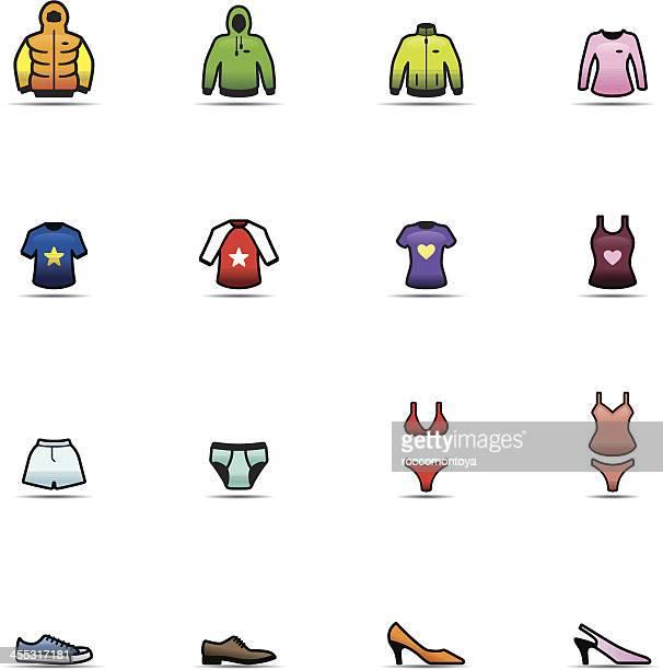 Icon Set, Clothes