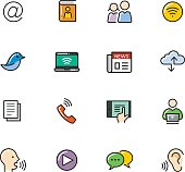 Icon Set, Communication