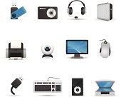 Icon Set - Computer Peripherals
